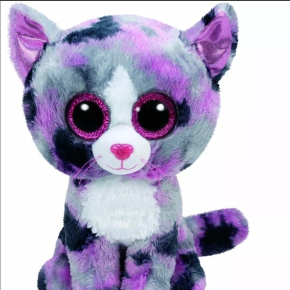 Ty Beanie Boo Cat Lindi